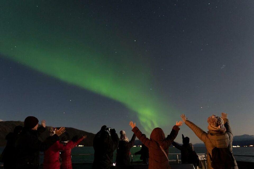 northern light cuisine cruise by electric catamaran